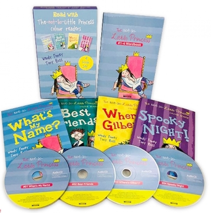 The Not so Little Princess(Book+CD) 4종 SET (단어장 증정)